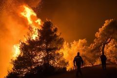 Εκτός ελέγχου η φωτιά στην Εύβοια - Εκκενώθηκαν τέσσερα χωριά