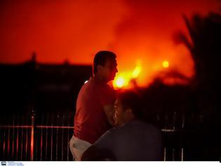 Φωτογραφία για Συνεχίζεται η μάχη με τις φλόγες στην Εύβοια..