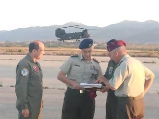 Φωτογραφία για Μετάβαση Αρχηγού ΓΕΣ στο 2ο Συγκρότημα Αεροπορίας Στρατού