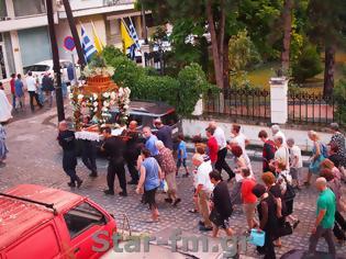 Φωτογραφία για Η Εγκώμια και η  Περιφορά της Παναγίας στον Μητροπολιτικό Ναό της Ευαγγελιστρίας Γρεβενών (εικόνες + video)