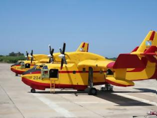 Φωτογραφία για Πιλότοι Canadair: Τους αποκαλούν ήρωες, αυτοί λένε ότι απλώς κάνουν τη δουλειά τους