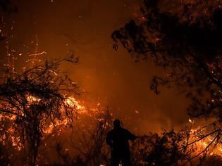 Φωτογραφία για Πυρκαγιές στη νότια Γαλλία: 1000 πυροσβέστες στη μάχη με τις φλόγες