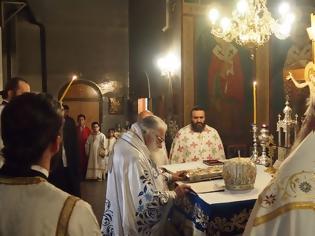 Φωτογραφία για Στην Παναγία των Γιαννιτσών λειτούργησε ο Σεβασμιώτατος Μητροπολίτης Εδέσσης, Πέλλης και Αλμωπίας κ. Ιωήλ