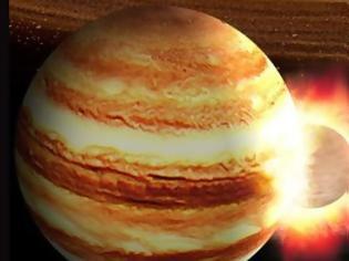 Φωτογραφία για Πλανήτης δεκαπλάσιος της Γης είχε συγκρουστεί κάποτε με τον Δία