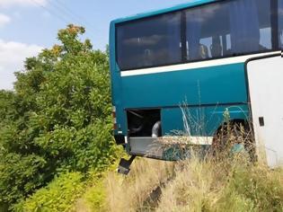 Φωτογραφία για Γρεβενά: Τρόμος για επιβάτες λεωφορείου ΚΤΕΛ - Λύθηκε το χειρόφρενο και πήγαινε στον γκρεμό!