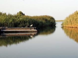 Φωτογραφία για Το εντυπωσιακό τοπίο στις εκβολές του Αχελώου (φωτο)