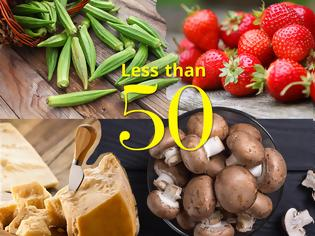 Φωτογραφία για 15 φαγητά με λιγότερο από 50 θερμίδες