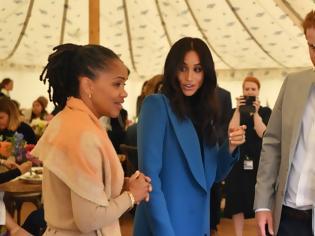 Φωτογραφία για Ο πρίγκιπας Χάρι αγνοεί τους συμβούλους του παλατιού και ακούει μόνο... την πεθερά του!