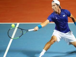 Φωτογραφία για Μάθημα ζωής από τον Λι, που έγινε ο πρώτος κουφός παίκτης νικητής σε αγώνα ATP Tour