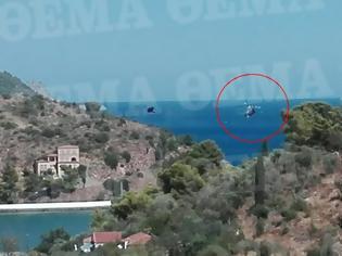 Φωτογραφία για Βίντεο με τη στιγμή της πτώσης του ελικοπτέρου στον Πόρο