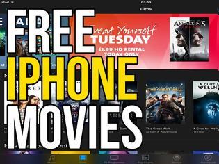 Φωτογραφία για Πως θα δείτε δωρεάν ταινίες από το iPhone η το ταμπλετ σας