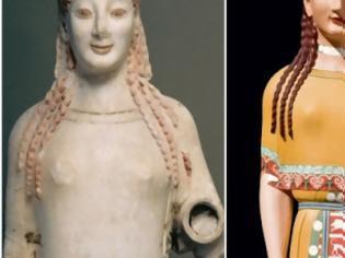 Φωτογραφία για Ροζ, κίτρινα, σιέλ! Έτσι ήταν στην πραγματικότητα τα αρχαία ελληνικά αγάλματα (pics)