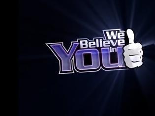 Φωτογραφία για «Κλείδωσε» η παρουσίαση του «We Believe In You»
