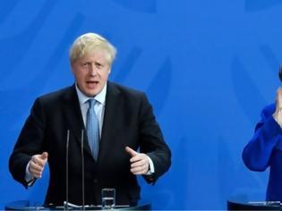 Φωτογραφία για Τζόνσον - Μέρκελ: Ανεβαίνει ο πυρετός - Νέες πιέσεις Λονδίνου για αλλαγές στο Brexit
