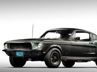 Φωτογραφία για Σε δημοπρασία η αυθεντική Ford Mustang Bullitt