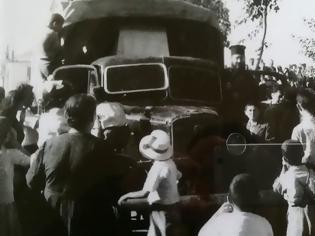 Φωτογραφία για Τότε που η μεταφορά της Προυσιώτισσας έγινε με φορτηγό στην Ποταμούλα (φωτο)