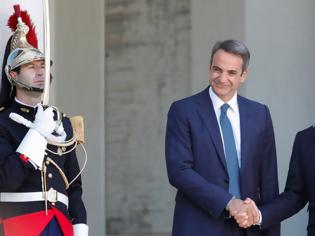 Φωτογραφία για Μακρόν: Γαλλία και ΕΕ δεν θα δείξουν καμία αδυναμία απέναντι στην Τουρκία για την κυπριακή ΑΟΖ