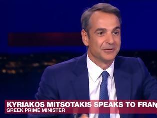 Φωτογραφία για Μητσοτάκης στη France 24: Δεν κατευθύνεται στην Ελλάδα το ιρανικό δεξαμενόπλοιο