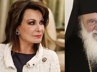 Φωτογραφία για Ο Αρχιεπίσκοπος συναντήθηκε με τη Γιάννα Αγγελοπούλου για το «2021»