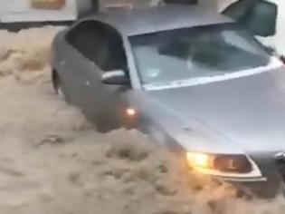Φωτογραφία για Ποτάμια οι δρόμοι στη Μαδρίτη από τις βροχοπτώσεις της Δευτέρας