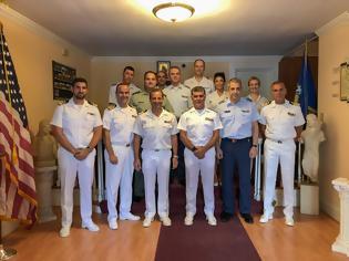 Φωτογραφία για Επίσκεψη Αρχηγού ΓΕΝ στις Ηνωμένες Πολιτείες Αμερικής