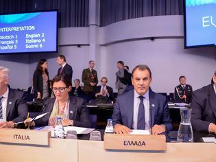 Φωτογραφία για Συμμετοχή ΥΕΘΑ κ. Νίκου Παναγιωτόπουλου στην Άτυπη Σύνοδο Υπουργών Άμυνας της Ε.Ε. στο Ελσίνκι