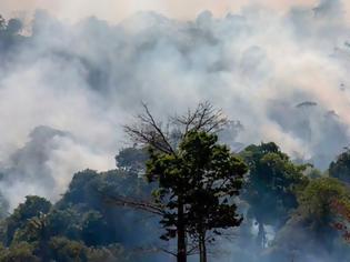 Φωτογραφία για Δίχως τέλος ο πύρινος εφιάλτης στον Αμαζόνιο - Χιλιάδες νέες εστίες