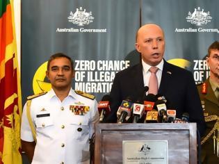Φωτογραφία για Αυστραλία: Αναχαιτίστηκε πλεούμενο με 13 αιτούντες άσυλο από τη Σρι Λάνκα