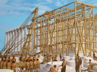 Φωτογραφία για Νέα έρευνα : Ο πρώτος γερανός που έχει υπάρξει ποτέ παγκοσμίως χρησιμοποιήθηκε από τους αρχαίους Έλληνες