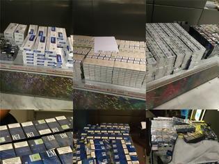 Φωτογραφία για Κατάσχεση πάνω από 20.000 λαθραίων τσιγάρων στο αεροδρόμιο «Μακεδονία»