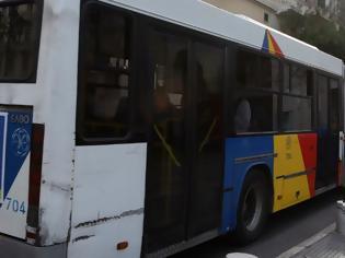 Φωτογραφία για Οπαδοί του ΠΑΟΚ στην οροφή εν κινήσει λεωφορείου του ΟΑΣΘ (pic)