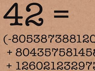 Φωτογραφία για Επιλύθηκε το μυστήριο με τον αριθμό 42