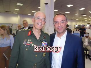 Φωτογραφία για Στο περίπτερο των Ενόπλων Δυνάμεων ο Υπουργός Οικονομικών Χρήστος Σταϊκούρας