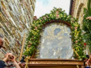 Φωτογραφία για 12488 - Με λαμπρόητα εορτάσθηκε η Γέννηση της Θεοτόκου στο μετόχι της Ιεράς Μονής Δοχειαρίου, στο Σοχό