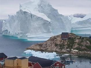 Φωτογραφία για Σε «θανατική καταδίκη» οι πάγοι της Γροιλανδίας;