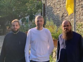 Φωτογραφία για Ο Ριμπολόβλεφ στο μοναστήρι του Αγίου Ιωάννη στην Καρυά