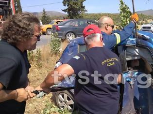 Φωτογραφία για Θανατηφόρο τροχαίο με θύμα 35χρονη - ΙΧ χτύπησε σε κολόνα της ΔΕΗ