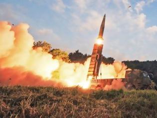Φωτογραφία για Η Βόρεια Κορέα εκτόξευσε δύο «μη αναγνωρίσιμους» πυραύλους
