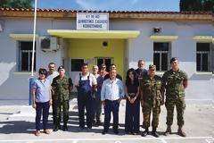 Ο στρατός ανακαίνισε το μειονοτικό σχολείο Ηφαίστου