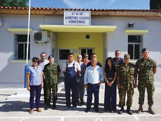 Φωτογραφία για Ο στρατός ανακαίνισε το μειονοτικό σχολείο Ηφαίστου