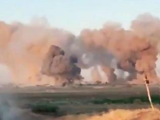 Φωτογραφία για Οι Αμερικάνοι βομβάρδισαν με βόμβες 36.000 κιλών στόχους τζιχαντιστών