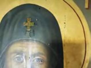 Φωτογραφία για Πάτμος: Δάκρυσε η εικόνα του Αγίου Παΐσιου το περασμένο Σάββατο