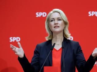 Φωτογραφία για Γερμανία: Εκτός κούρσας για την ηγεσία του SPD η Μανουέλα Σβέσιχ για λόγους υγείας