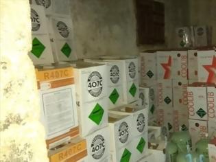 Φωτογραφία για Το ΣΔΟΕ εντόπισε 23 τόνους απαγορευμένου φρέον στο Αιγάλεω!
