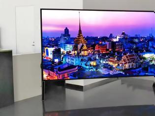 Φωτογραφία για H  επίδειξη της μεγαλύτερης 8K LCD TV στον κόσμο