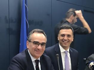 Φωτογραφία για Ο Βασίλης Κικίλιας και ο υφυπουργός Βασίλης Κοντοζαμάνης