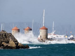 Φωτογραφία για Σαββατοκύριακο: 9 μποφόρ στο Αιγαίο - Πού θα φτάσει η θερμοκρασία
