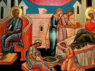 Φωτογραφία για π. Συμεών Κραγιόπουλος (†) - Απόδοση της εορτής του Γενεσίου της Θεοτόκου