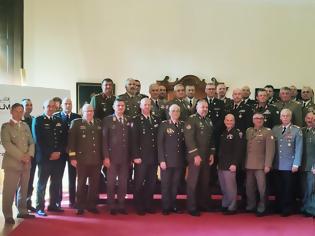Φωτογραφία για Συμμετοχή Αρχηγού Γενικού Επιτελείου Στρατού στην 6η Σύνοδο Αρχηγών των Ευρωπαϊκών Χερσαίων Δυνάμεων