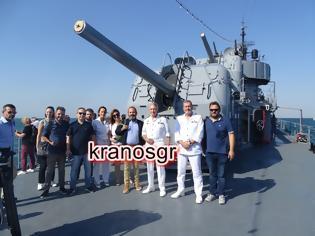 Φωτογραφία για Στην ξενάγηση Δημοσιογράφων στο Αντιτορπιλικό ΒΕΛΟΣ το kranosgr